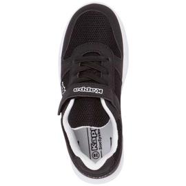 Buty Kappa Dalton K czarno-białe 260779K 1110 czarne 1