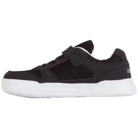 Buty Kappa Dalton K czarno-białe 260779K 1110 czarne 2
