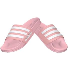 Klapki dla dzieci adidas Adilette Shower K różowe G27628 1