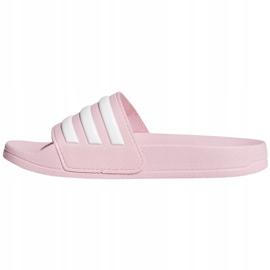 Klapki dla dzieci adidas Adilette Shower K różowe G27628 3