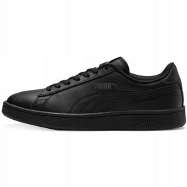 Buty dla dzieci Puma Smash v2 L Jr czarne 365170 01 2