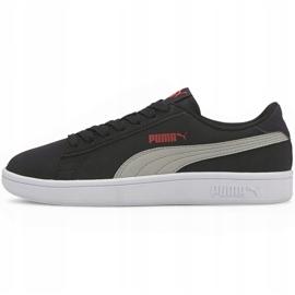 Buty dla dzieci Puma Smash v2 Buck Jr czarne 365182 19 2