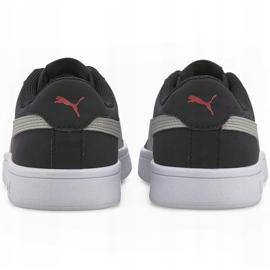 Buty dla dzieci Puma Smash v2 Buck Jr czarne 365182 19 4