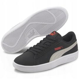Buty dla dzieci Puma Smash v2 Buck Jr czarne 365182 19 3