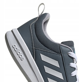 Buty dla dzieci adidas Tensaur K szare FV9450 4