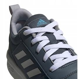 Buty dla dzieci adidas Tensaur K szare FV9450 3