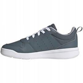 Buty dla dzieci adidas Tensaur K szare FV9450 2