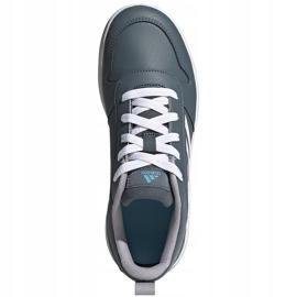 Buty dla dzieci adidas Tensaur K szare FV9450 1