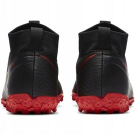 Buty piłkarskie Nike Mercurial Superfly 7 Academy Tf Junior AT8143 060 czarne czarne 4