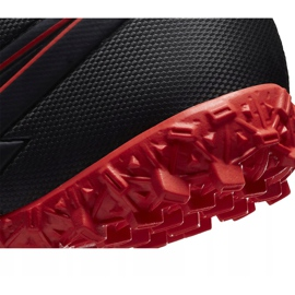 Buty piłkarskie Nike Mercurial Superfly 7 Academy Tf Junior AT8143 060 czarne czarne 6