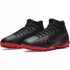 Buty piłkarskie Nike Mercurial Superfly 7 Academy Tf Junior AT8143 060 czarne czarne 3