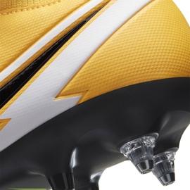 Buty piłkarskie Nike Mercurial Superfly 7 Academy Sg Pro Ac BQ9141 801 żółte pomarańczowe 6
