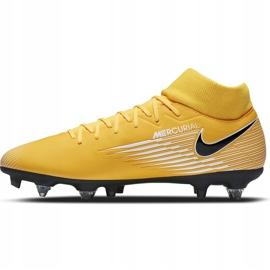 Buty piłkarskie Nike Mercurial Superfly 7 Academy Sg Pro Ac BQ9141 801 żółte pomarańczowe 2