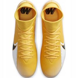 Buty piłkarskie Nike Mercurial Superfly 7 Academy Sg Pro Ac BQ9141 801 żółte pomarańczowe 1