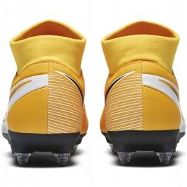 Buty piłkarskie Nike Mercurial Superfly 7 Academy Sg Pro Ac BQ9141 801 żółte pomarańczowe 4