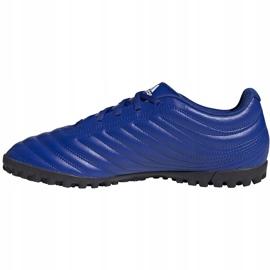Buty piłkarskie adidas Copa 20.4 Tf niebieskie EH1481 2