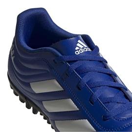 Buty piłkarskie adidas Copa 20.4 Tf niebieskie EH1481 4