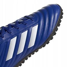 Buty piłkarskie adidas Copa 20.4 Tf niebieskie EH1481 3