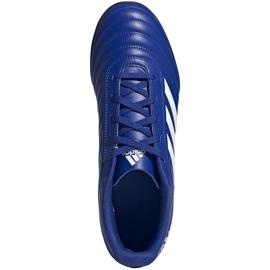 Buty piłkarskie adidas Copa 20.4 Tf niebieskie EH1481 1