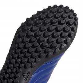 Buty piłkarskie adidas Copa 20.4 Tf niebieskie EH1481 5