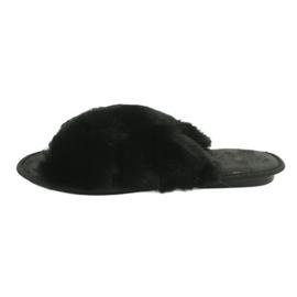 Befado Inblu obuwie damskie 155D112 czarne 1