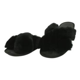 Befado Inblu obuwie damskie 155D112 czarne 2