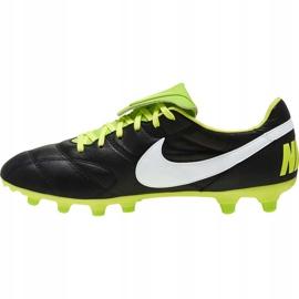 Buty piłkarskie Nike The Premier Ii Fg 917803 013 czarne czarne 1