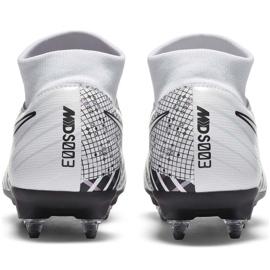 Buty piłkarskie Nike Mercurial Superfly 7 Academy Mds SG-Pro Ac DB4351 110 białe białe 4
