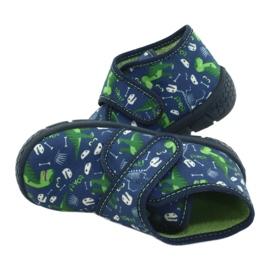 Befado obuwie dziecięce 538P037 niebieskie zielone 5