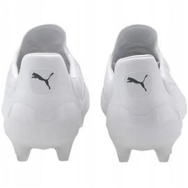 Buty piłkarskie Puma King Platinum Fg Ag białe 105606 03 4