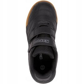 Buty piłkarskie Kappa Kickoff T Jr 260509T 1116 czarne zielone 1