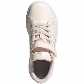 Buty dla dzieci adidas Grand Court C różowe FW4937 2