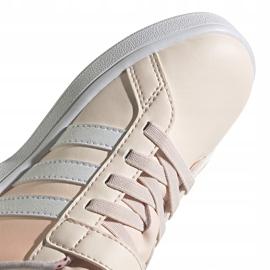 Buty dla dzieci adidas Grand Court C różowe FW4937 4