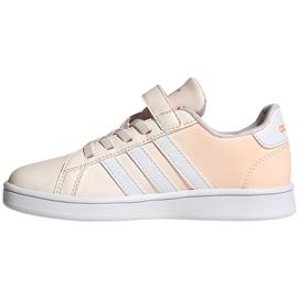 Buty dla dzieci adidas Grand Court C różowe FW4937 1