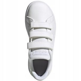 Buty dla dzieci adidas Advantage C białe FY4625 2