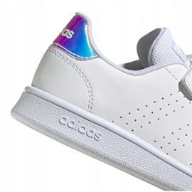 Buty dla dzieci adidas Advantage C białe FY4625 4