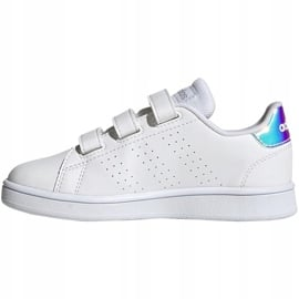 Buty dla dzieci adidas Advantage C białe FY4625 1