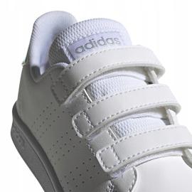 Buty dla dzieci adidas Advantage C białe FY4625 3