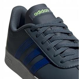 Buty dla dzieci adidas Vl Court 2.0 zielone FW3934 wielokolorowe 4