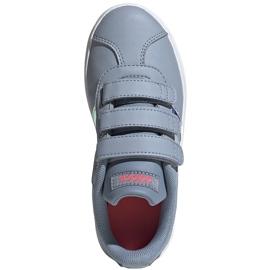 Buty dla dzieci adidas Vl Court 2.0 Cmf szare FW4958 2