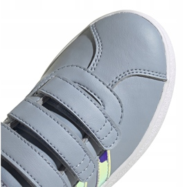 Buty dla dzieci adidas Vl Court 2.0 Cmf szare FW4958 3