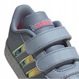 Buty adidas Vl Court 2.0 Cmf Jr FW4964 szare 1