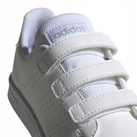 Buty adidas Advantage C Jr FY4625 białe 1