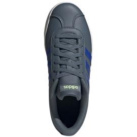 Buty adidas Vl Court 2.0 Jr FW3934 niebieskie szare 1