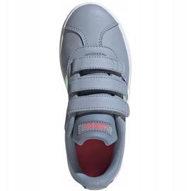 Buty adidas Vl Court 2.0 Cmf Jr FW4958 szare 1