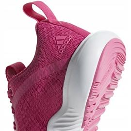 Buty adidas FortaRun X K różowe D96949 4