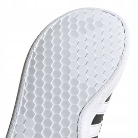 Buty adidas Grand Court C Jr EF0108 białe czarne 5