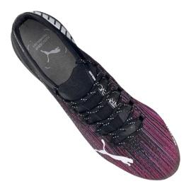 Buty piłkarskie Puma Ultra 1.1 Fg M 106044-03 czarny, czarny, różowy czarne 3
