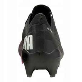 Buty piłkarskie Puma Ultra 1.1 Fg M 106044-03 czarny, czarny, różowy czarne 4
