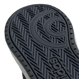 Buty adidas Hoops Mid 2.0 I Jr FW4925 białe szare 4